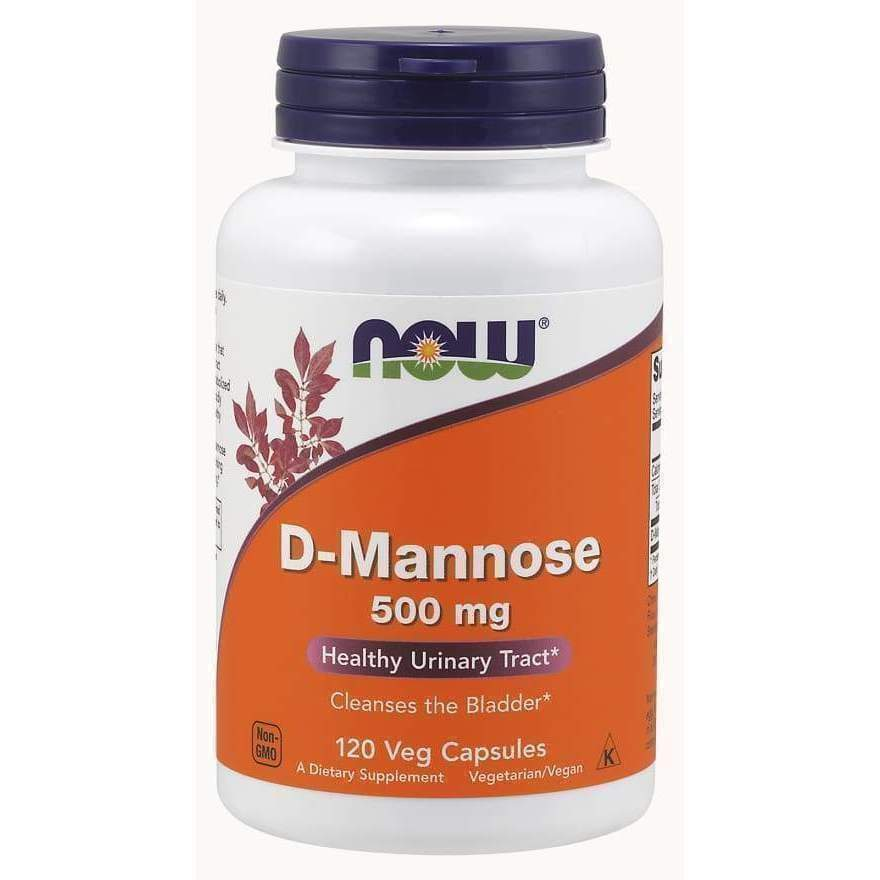 D-MANNOSE 500MG 120 VCAPS - Earthly Nutrition