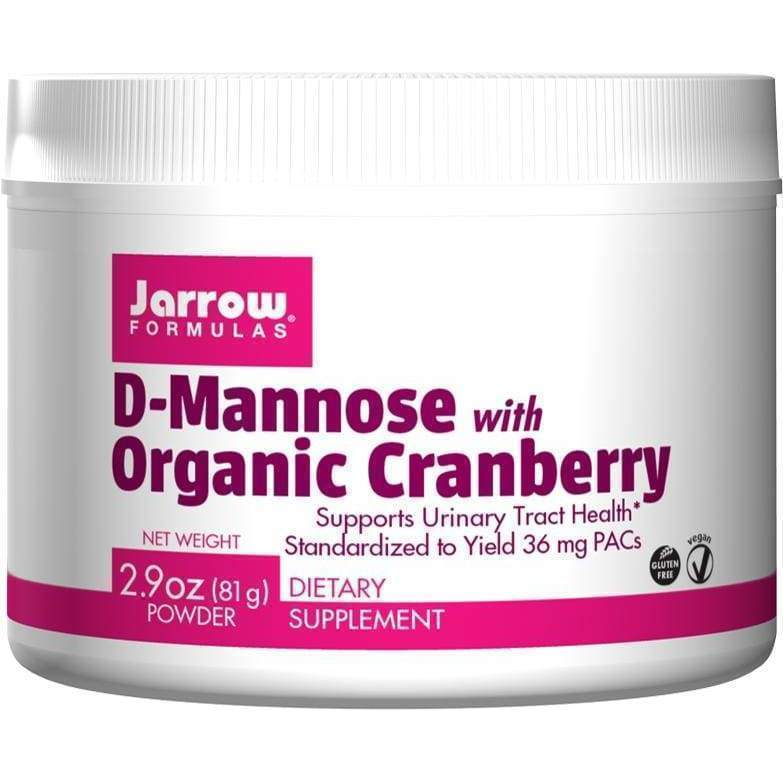 D-Mannose W/ Cranberry 2.9oz - Jarrow - Earthly Nutrition