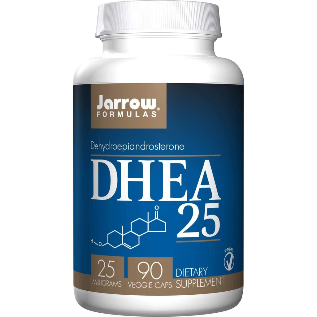 DHEA 25 mg 90 cap - Jarrow - Earthly Nutrition