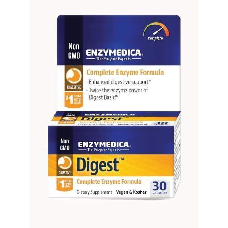 Digest 30 Vegan and Kosher capsules - Earthly Nutrition
