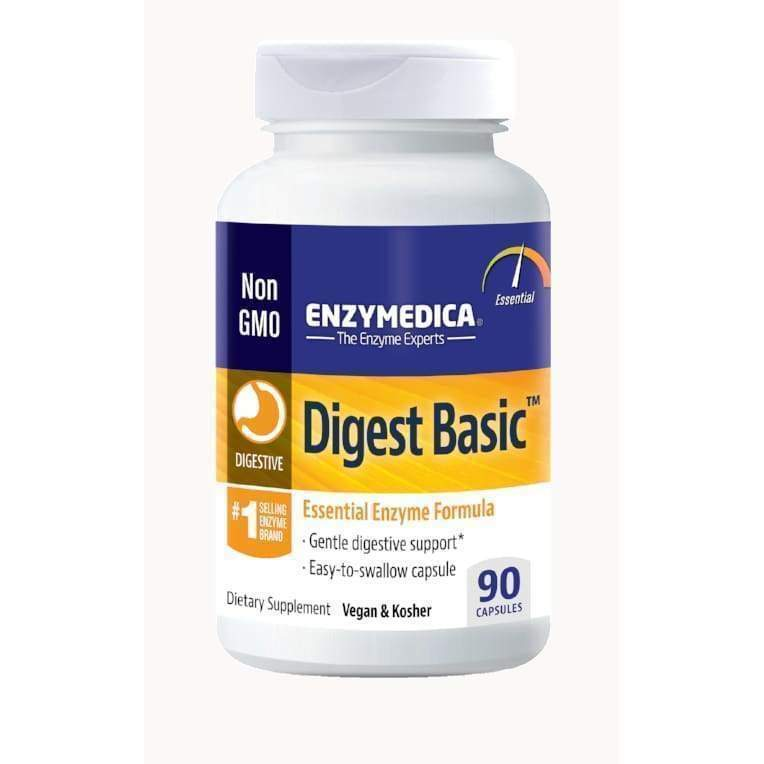 Digest Basic 90 Vegan and Kosher capsules - Earthly Nutrition