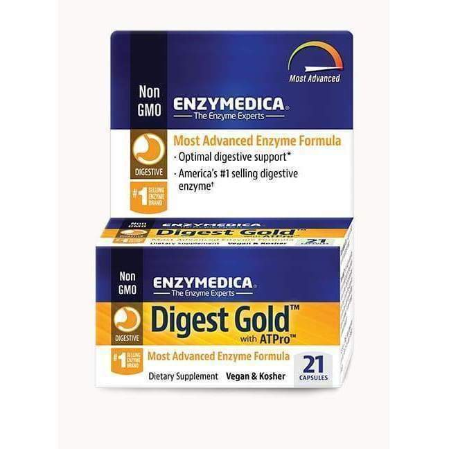 Digest Gold with ATPro, 21 Vegan and Kosher capsules - Earthly Nutrition
