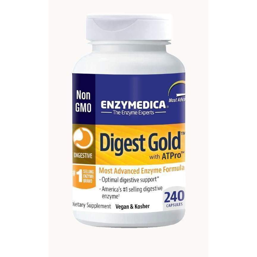 Digest Gold with ATPro, 240 Vegan Capsules - Earthly Nutrition