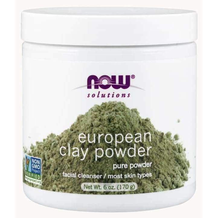 EUROPEAN CLAY POWDER 6 OZ - Earthly Nutrition