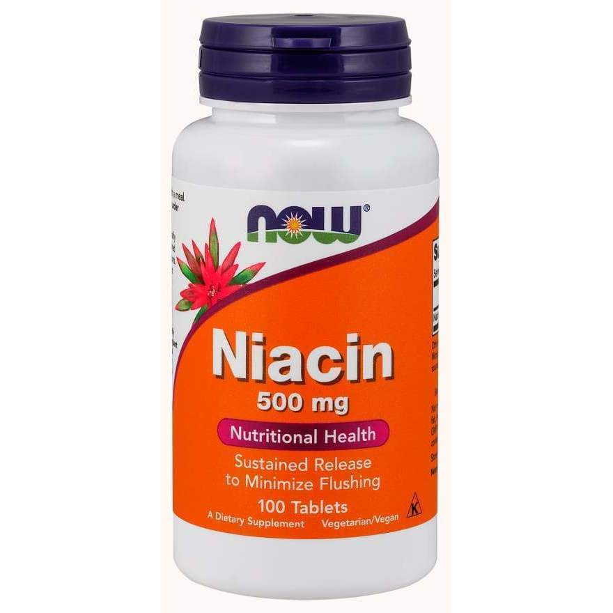 FLUSH FREE NIACIN 500mg 90 VCAPS - Earthly Nutrition