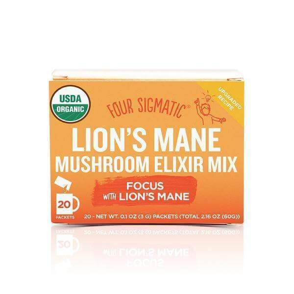 Four Sigmatic Mushroom Elixir Lion's Mane DECAF - 20 packets - Earthly Nutrition