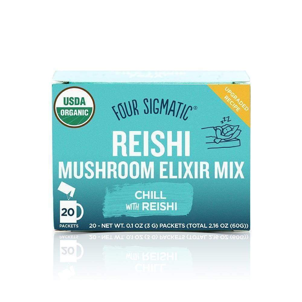 Four Sigmatic Reishi Mushroom Elixer DECAF - 20 Packets - Earthly Nutrition