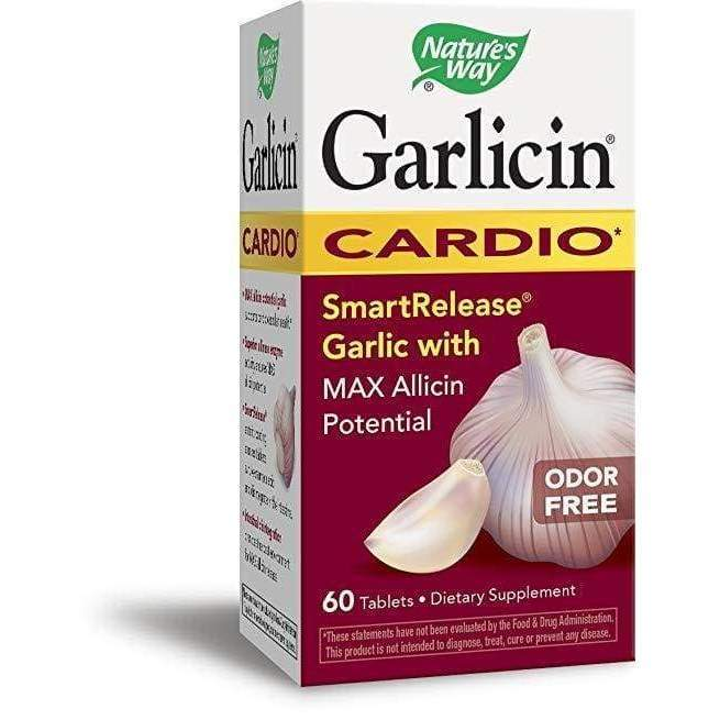 Garlicin 60 tab - Schwabe - Earthly Nutrition