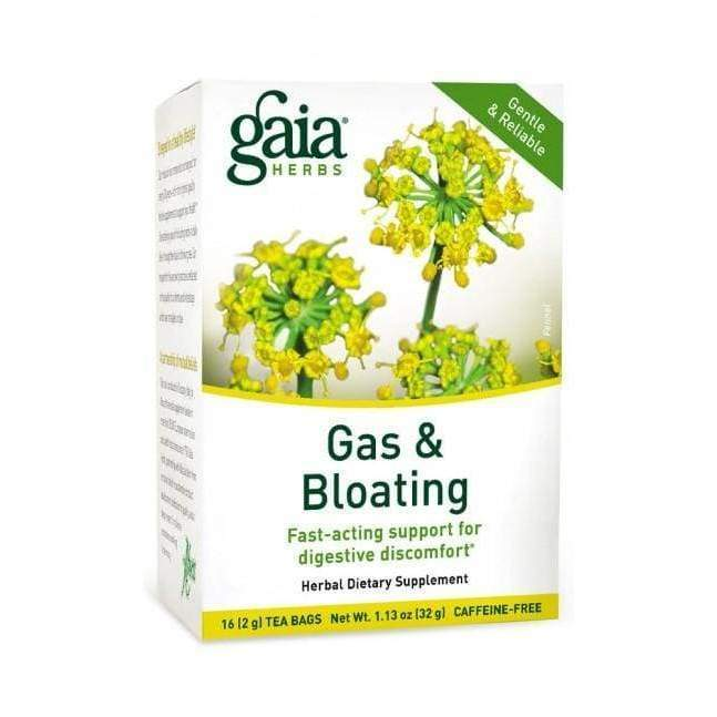 Gas & Bloating Tea - Gaia Herbs - Earthly Nutrition