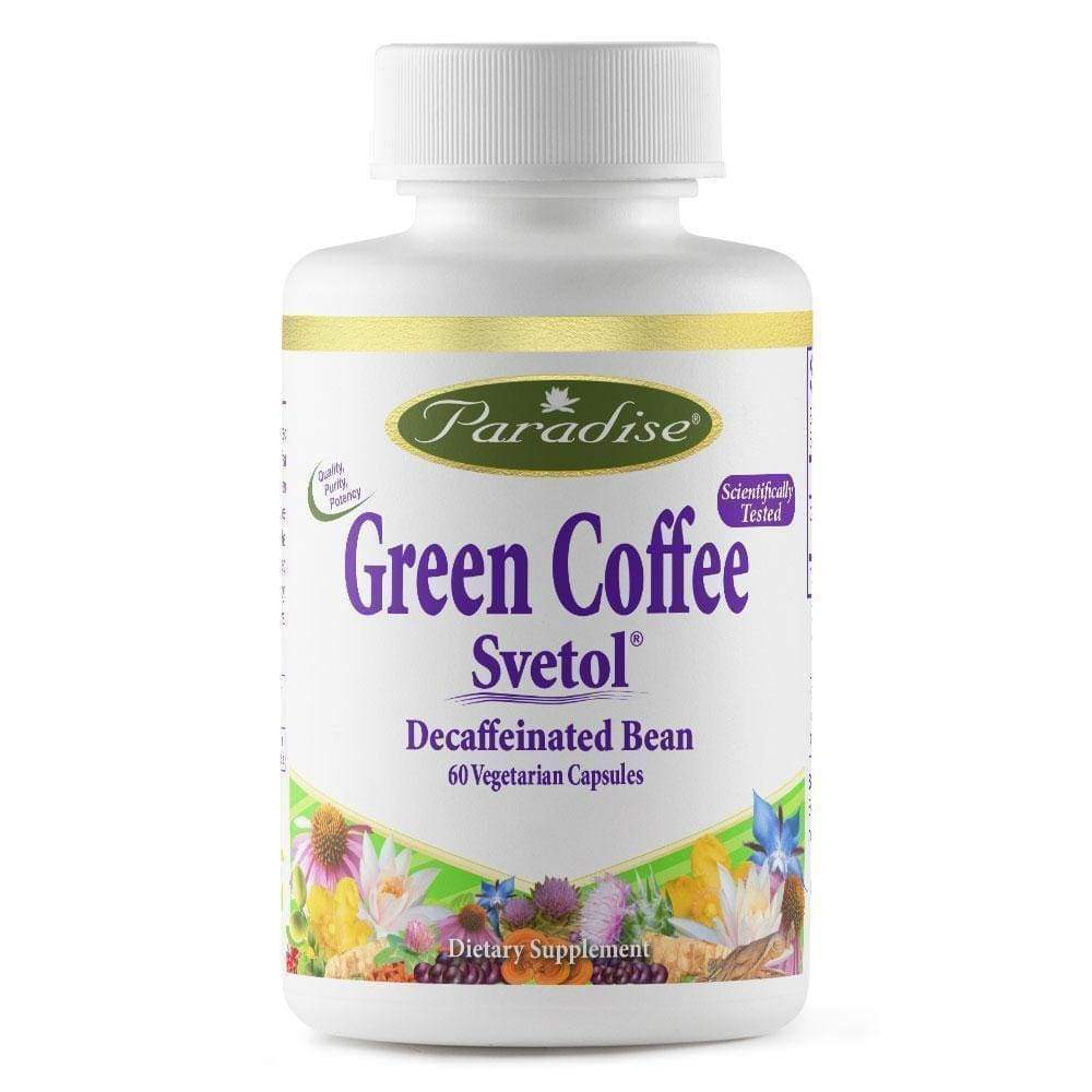 Green Coffee Svetol - Paradise Herbs - Earthly Nutrition