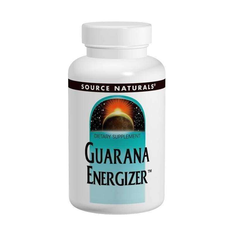 Guarana Energy 900 mg 200 Tabs - Source Naturals - Earthly Nutrition
