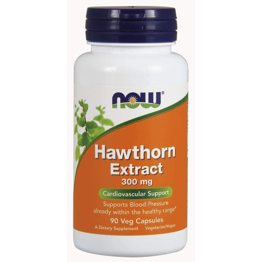 HAWTHORN EXT 1.8% /300MG 90 VCAPS - Earthly Nutrition