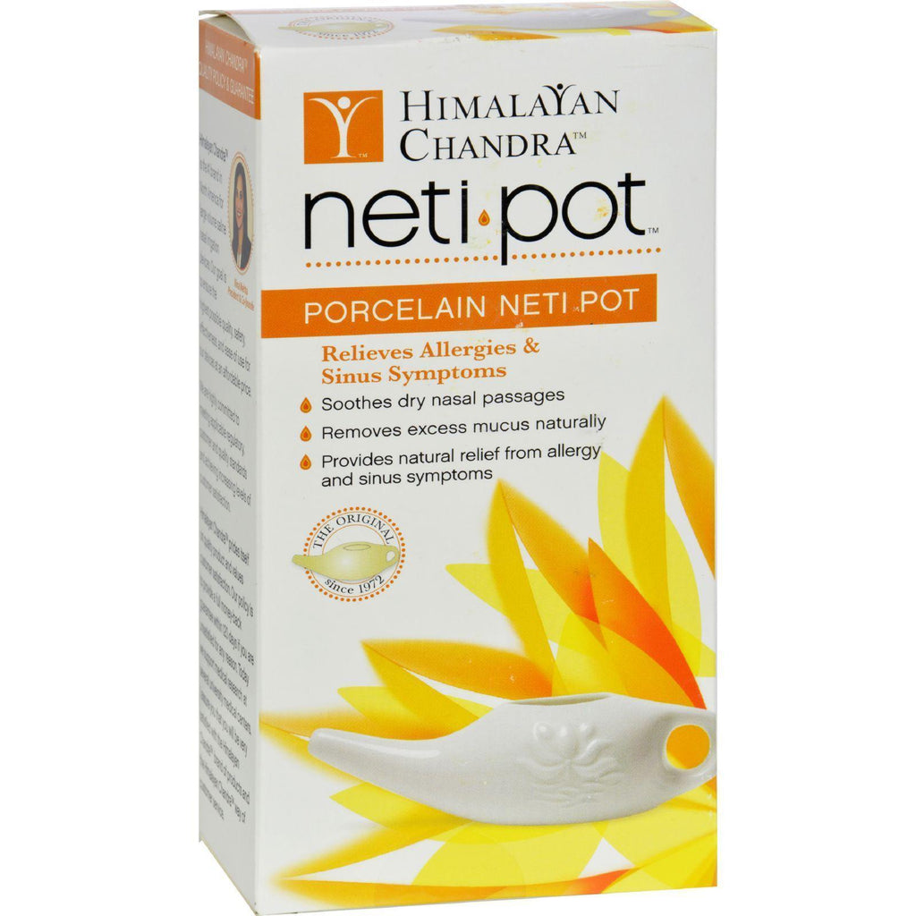 Himalayan Institute Eco Travel Neti Pot - Earthly Nutrition