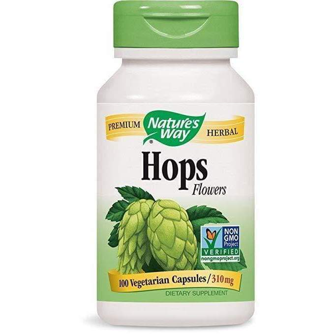 Hops 100 vcap Nature's Way - Schwabe - Earthly Nutrition