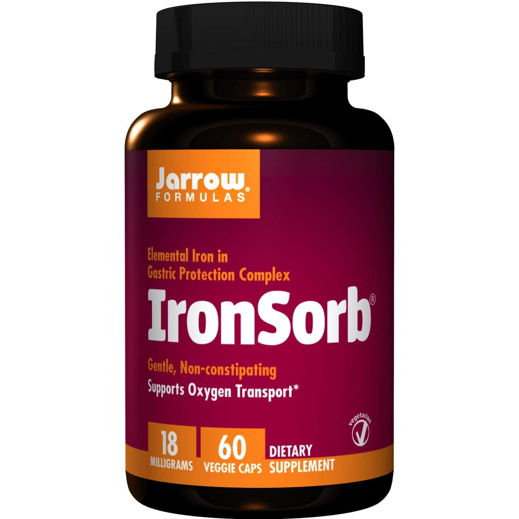 IronSorb 18mg 60caps - Jarrow - Earthly Nutrition