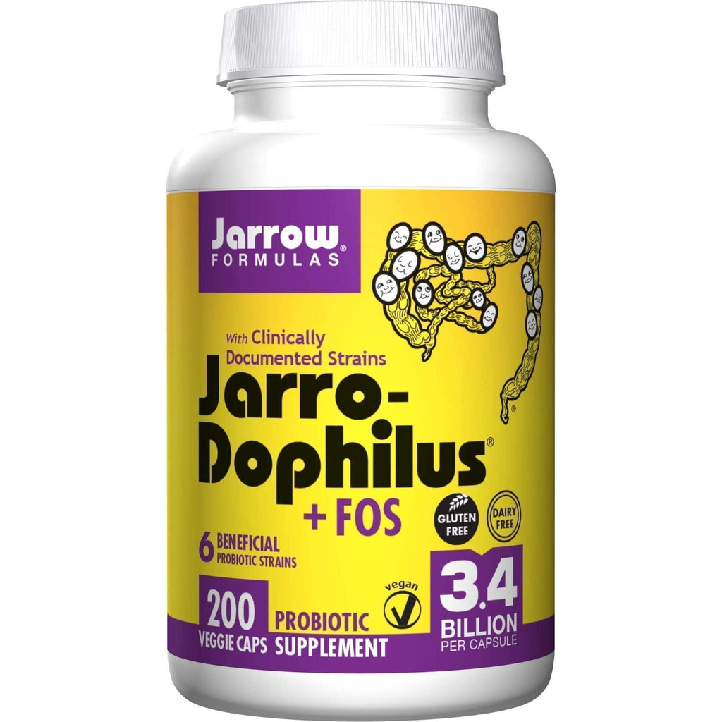 Jarro Doph + FOS 3.4 billion 200 cap - Jarrow - Earthly Nutrition