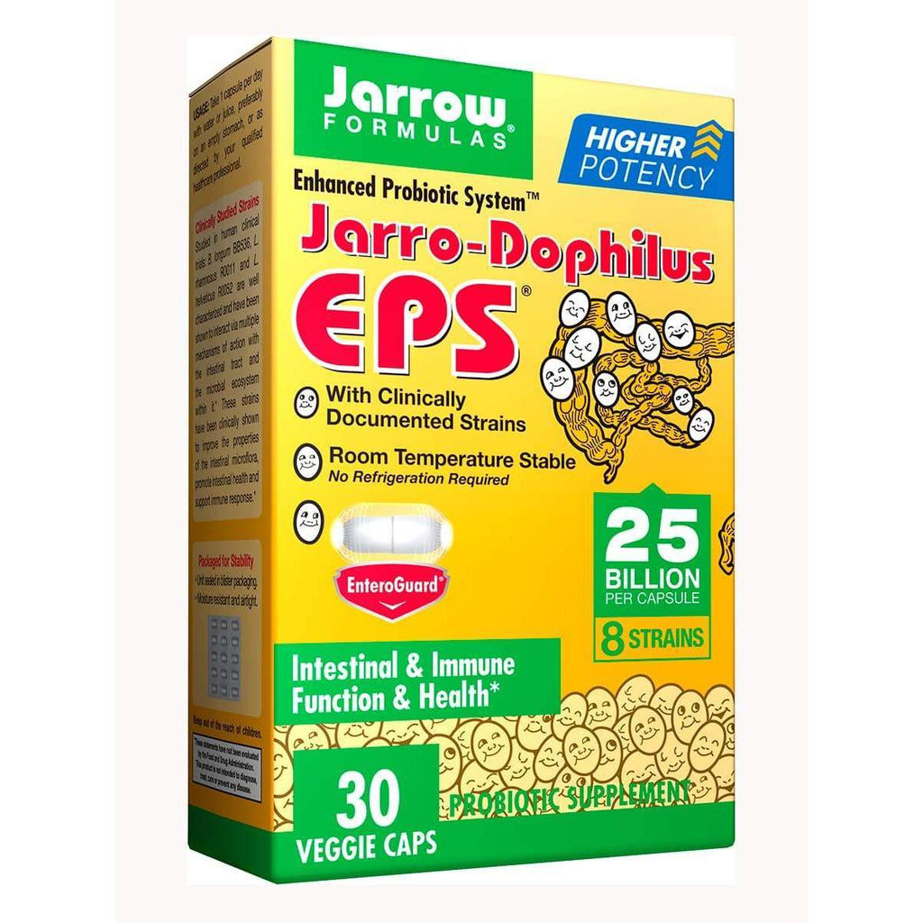 Jarro-Dophilus EPS (25 billion, 8 strains) 30 veggie capsules - Earthly Nutrition