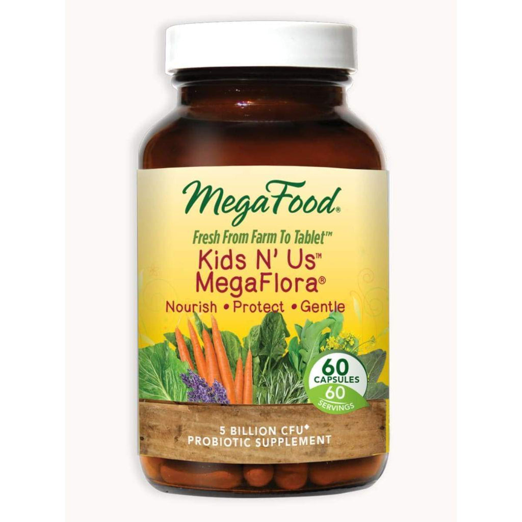 Kids N' Us MegaFlora 60ct - Earthly Nutrition