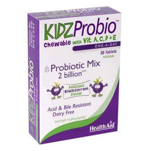 KidzProbio Probiotic Mix 30 Vegan Tablets - Earthly Nutrition