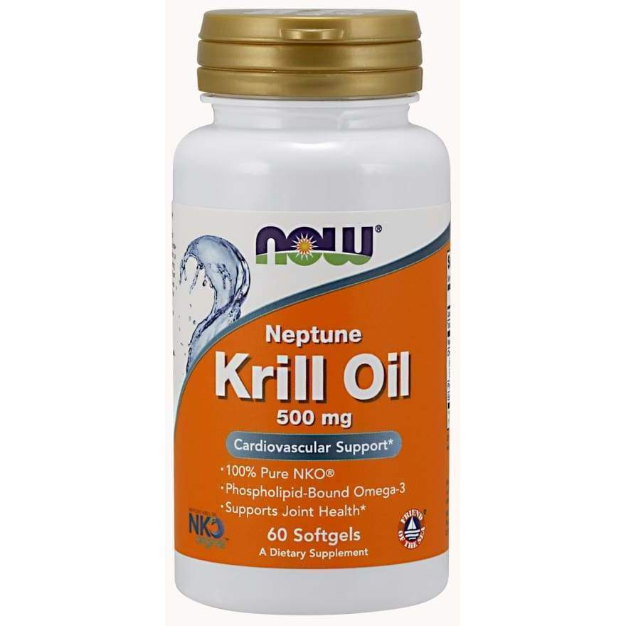 KRILL OIL NEPTUNE 500MG 60 SGELS - Earthly Nutrition