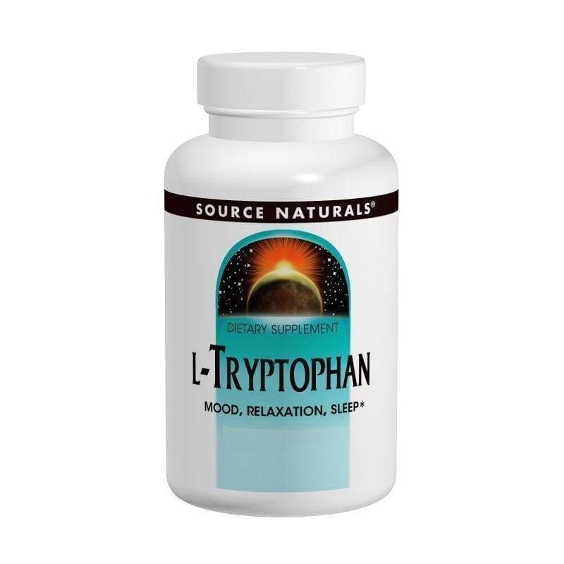 L-Tryptophan 500 mg, 120 Capsules - Earthly Nutrition