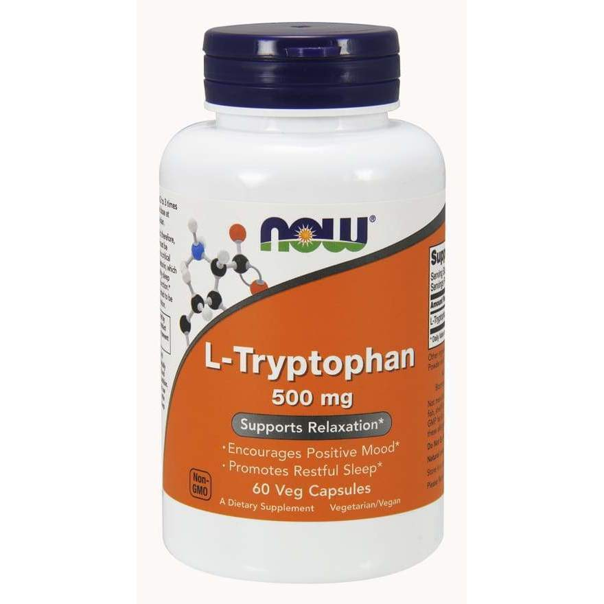 L-TRYPTOPHAN 500MG 120 VCAPS - Earthly Nutrition