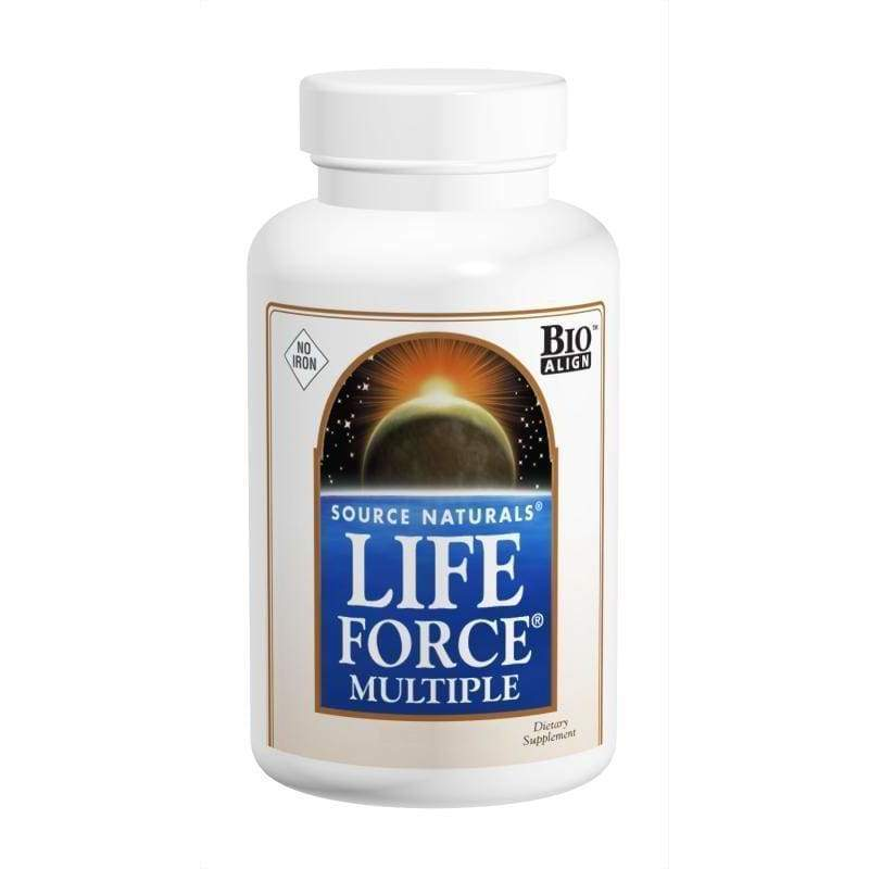 Life Force No Iron 120 Capsules - Threshold - Earthly Nutrition