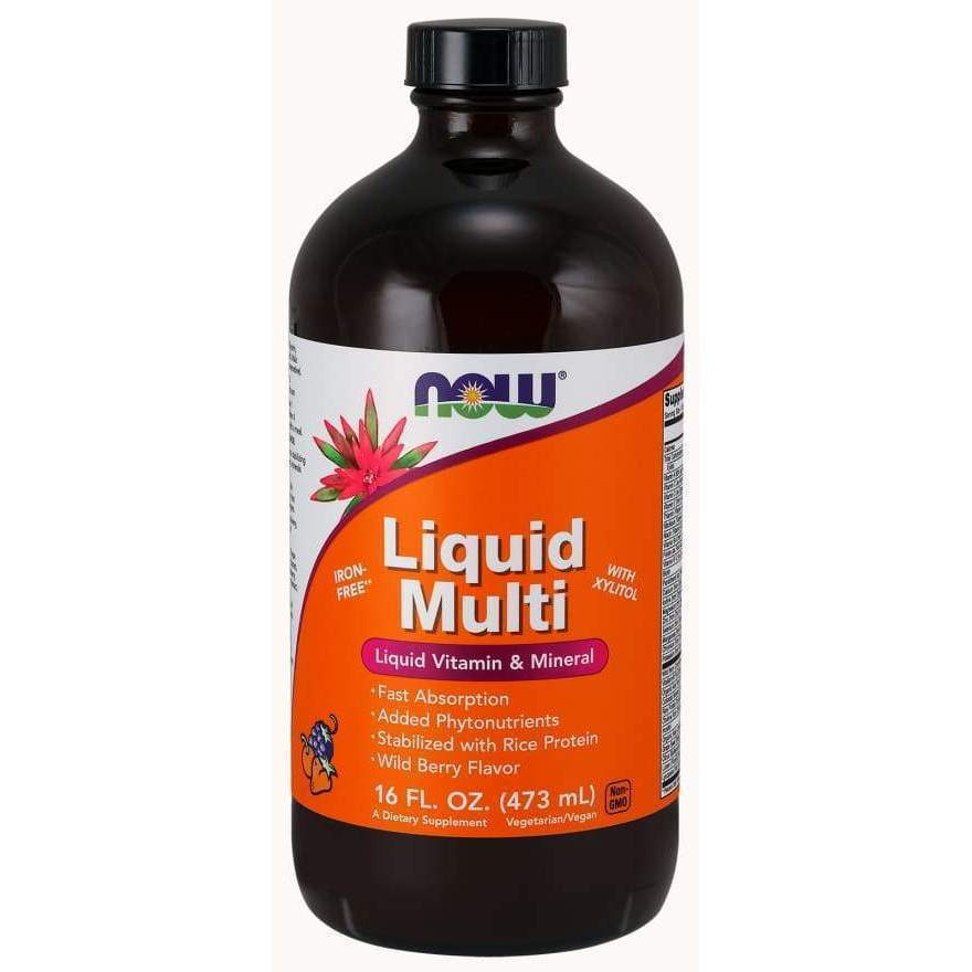 LIQUID MULTI BERRY 16 OZ - Earthly Nutrition