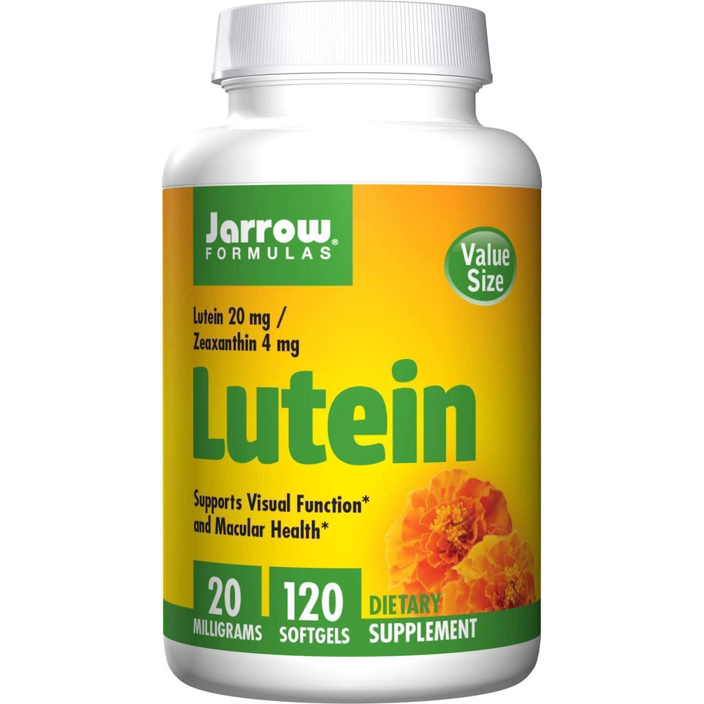 Lutein 20 mg, 120 Softgels - Earthly Nutrition