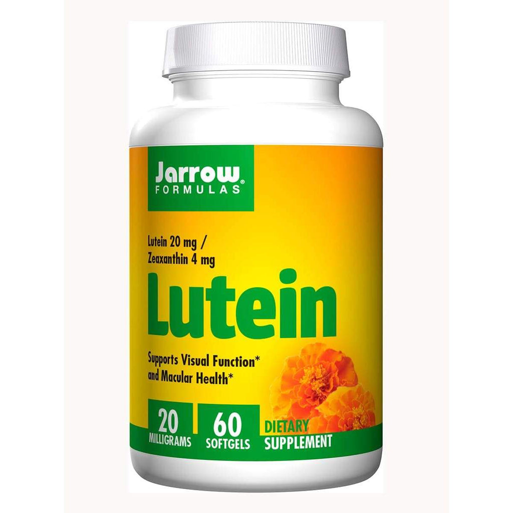 Lutein 20mg 60ct - Jarrow - Earthly Nutrition