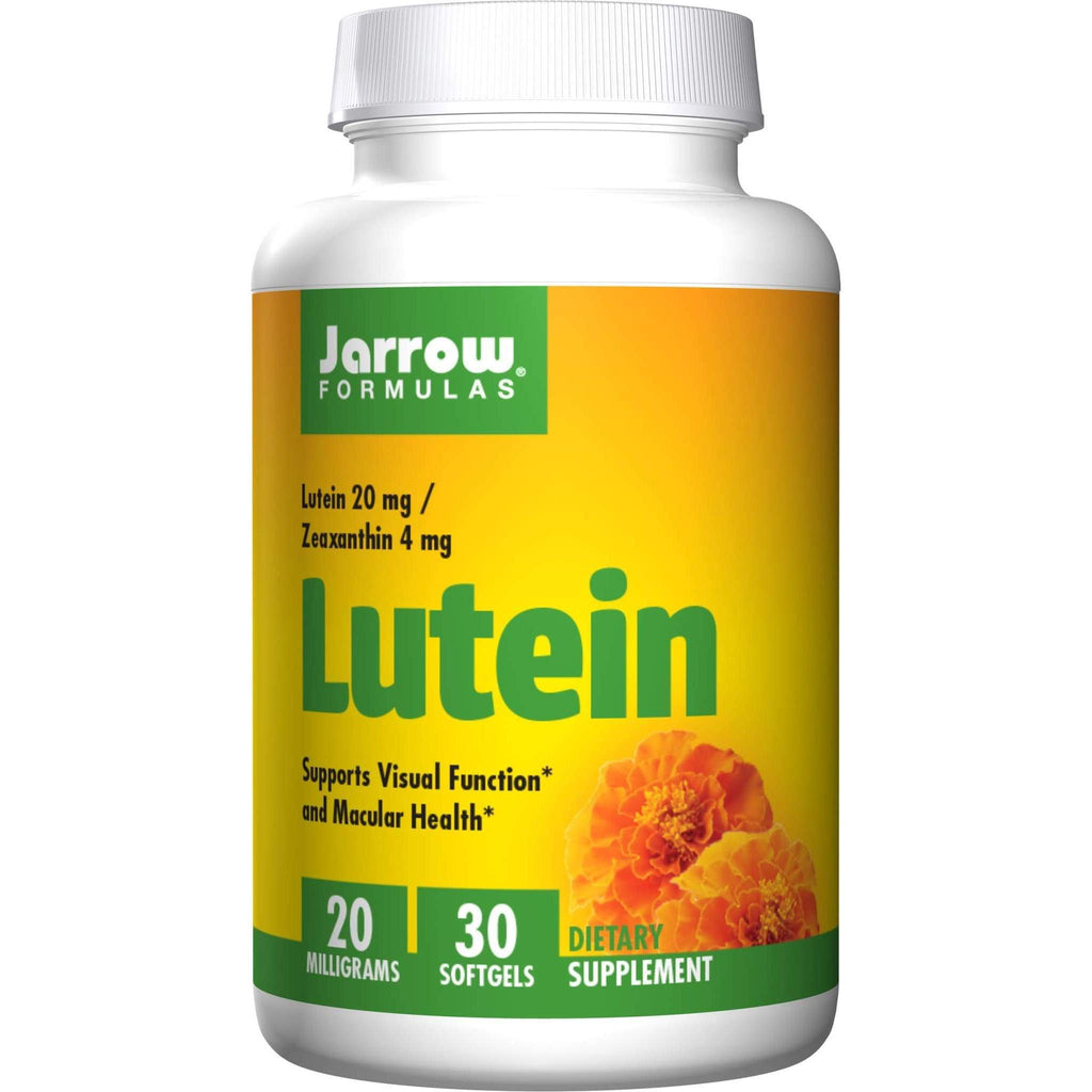 Lutein 20mg SGC, 30ct - Jarrow - Earthly Nutrition