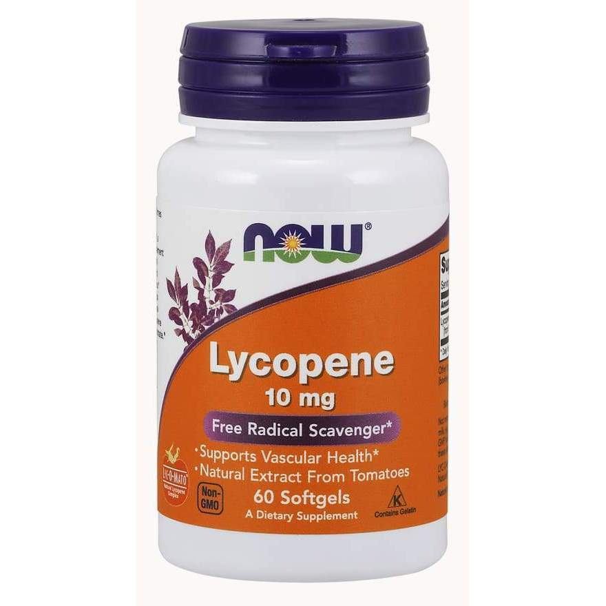 LYCOPENE 10mg 120 SGELS - Earthly Nutrition