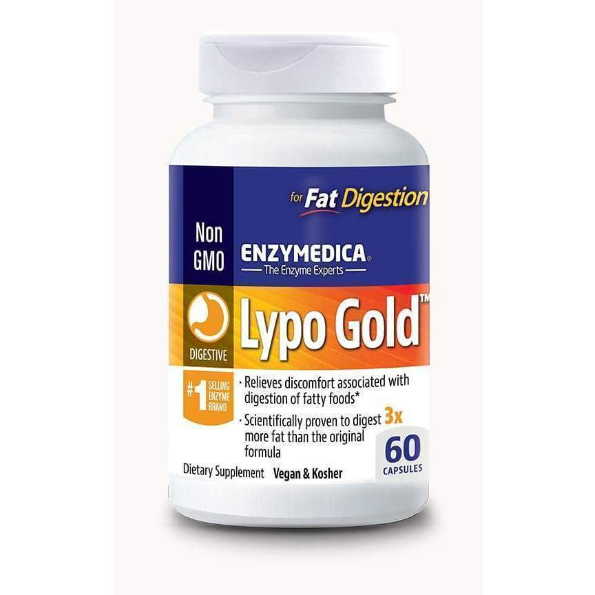 Lypo Gold 60 Vegan and Kosher capsules - Earthly Nutrition