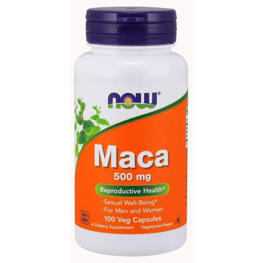 MACA 500mg 100 VCAPS - Earthly Nutrition