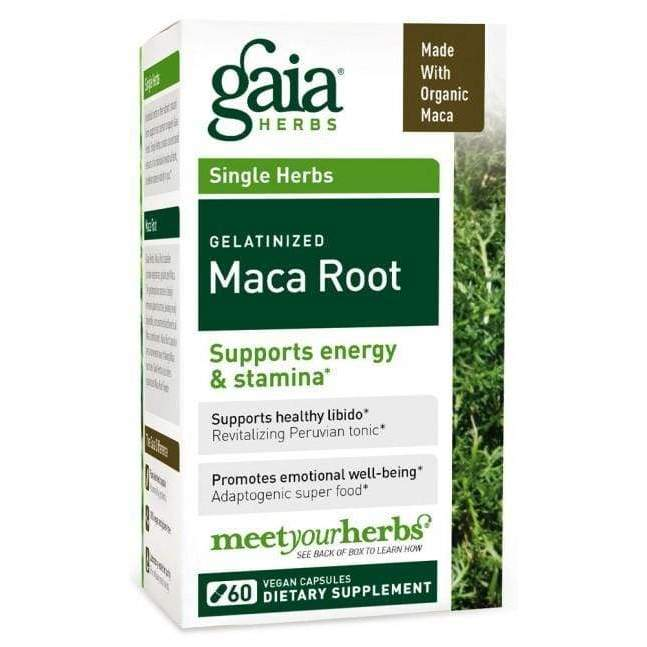 Maca Root 60 vcap - Gaia Herbs - Earthly Nutrition