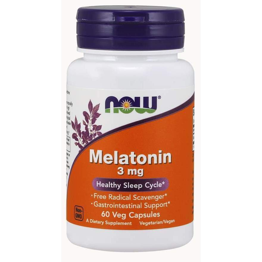 Melatonin 3 mg 180ct - MSRP $12.99 - Earthly Nutrition