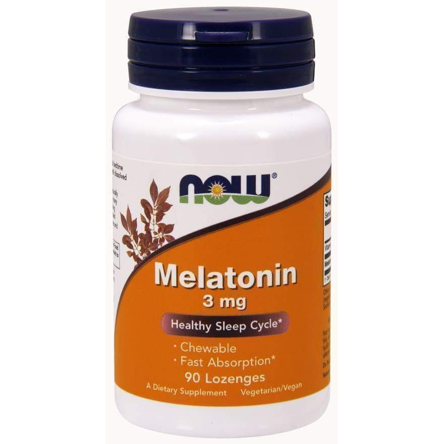 Melatonin 3mg 90 loz - MSRP $6.99 - Earthly Nutrition