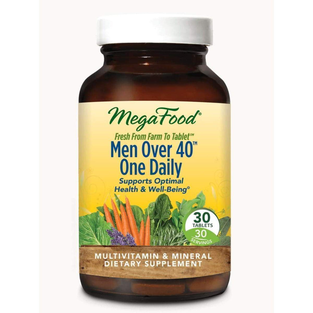 Men Over 40 One Daily 30ct - Earthly Nutrition