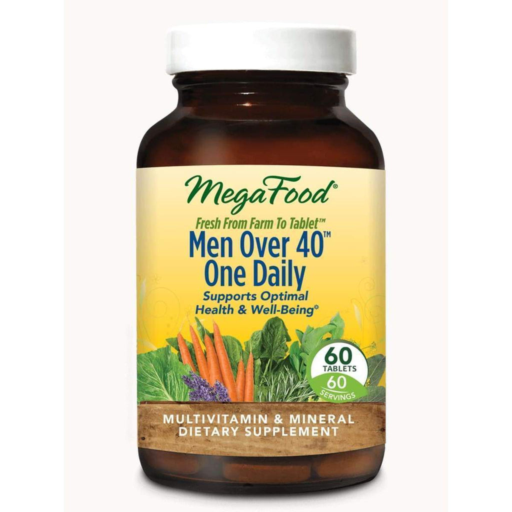 Men Over 40 One Daily 90ct - Earthly Nutrition