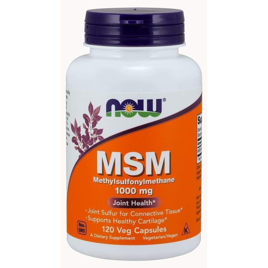 M.S.M 1000mg 120 VCAPS - Earthly Nutrition