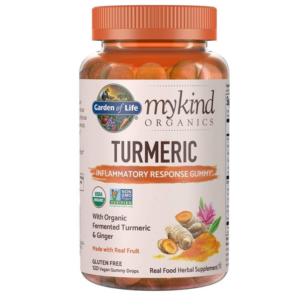 Mykind Herbal Turmeric 120ct Gummy - Earthly Nutrition