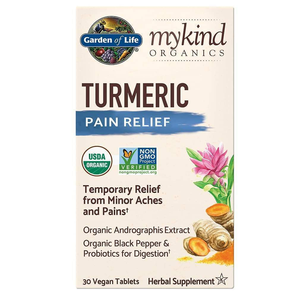 Mykind Herbal Turmeric 30ct Tablets - Earthly Nutrition