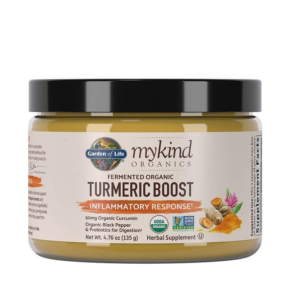 Mykind Herbal Turmeric Boost 135g Powder - Earthly Nutrition