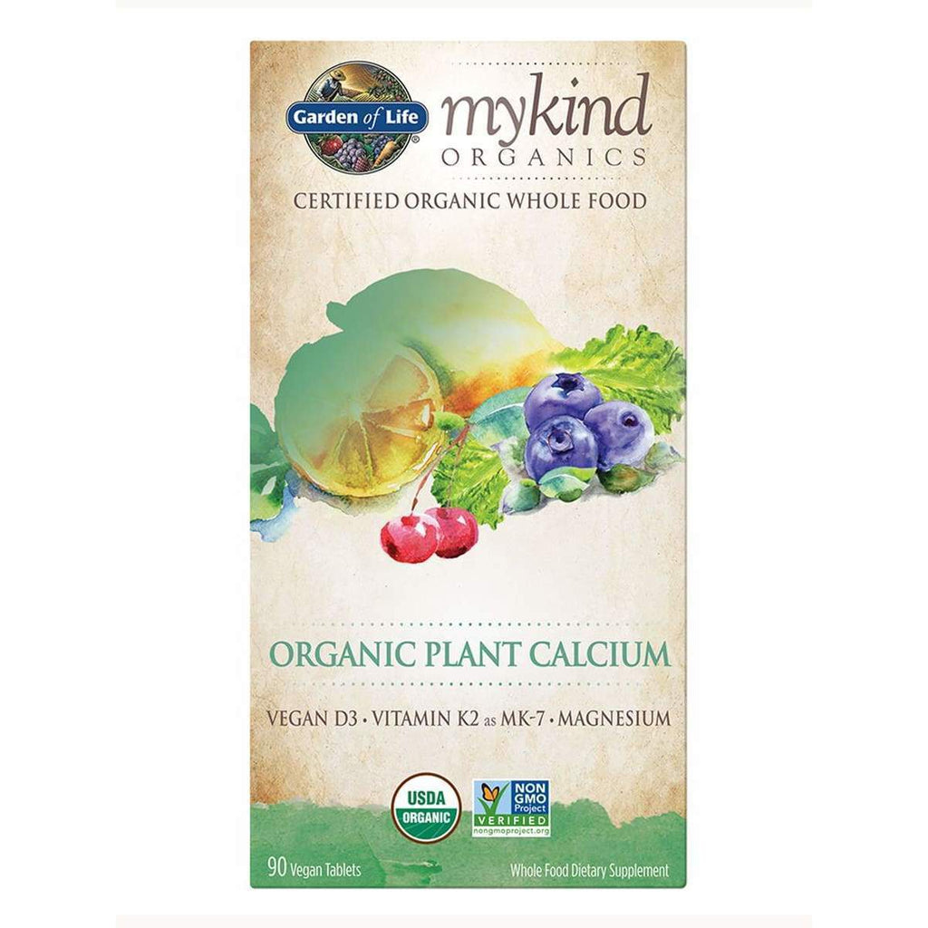 MyKind Org Plant Calcium 90ct - Earthly Nutrition