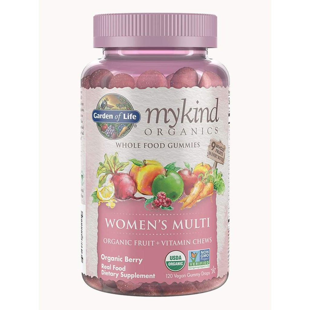 MyKind Women's Multi Gummies Berry 120ct - Earthly Nutrition