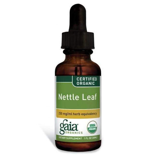 Nettle Leaf 250mg 1oz - Gaia Herbs - Earthly Nutrition