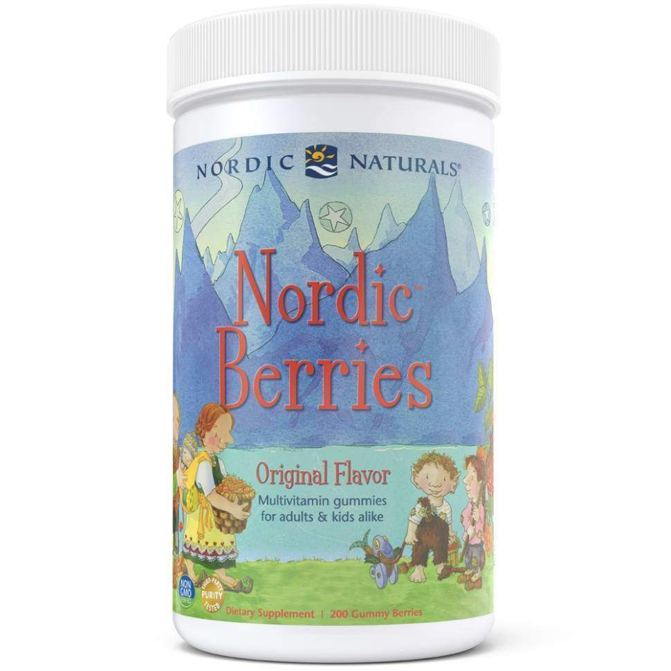 Nordic Berries Multivitamin Gummies 200 Gummies – Nordic Naturals