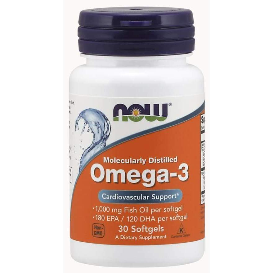OMEGA-3 1000mg 100 SGELS - Earthly Nutrition