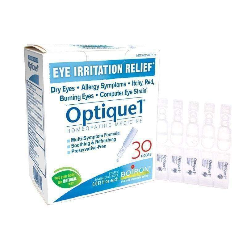 Optique Eye Drops 30 doses - Boiron - Earthly Nutrition