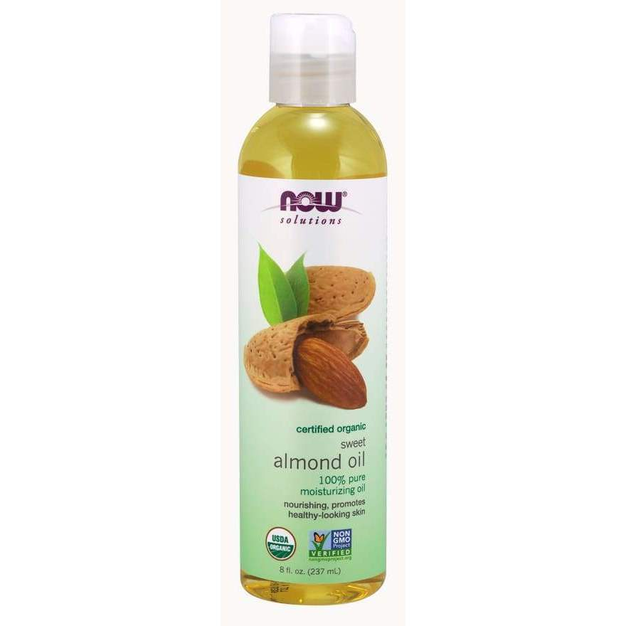 ORGANIC ALMOND OIL 8 OZ - Earthly Nutrition